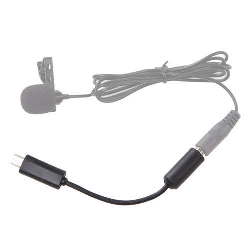 Microphone Adapter Cable Cord For GoPro Action Camera