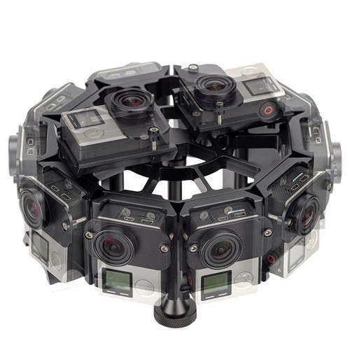 360 Camera Rigs 14 for VR Video production