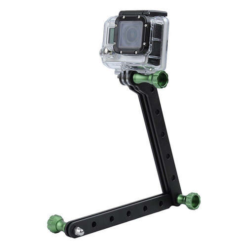 Aluminum Alloy Tripod Extension Arm For GoPro Action Camera
