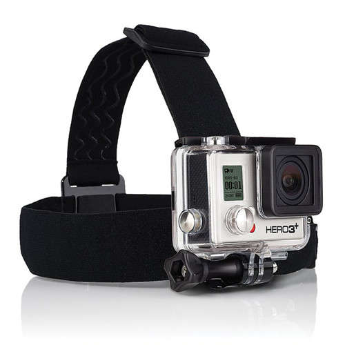 Head Elastic Strap For GoPro Action Camera