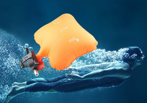 Wearable Rescue Device Inflatable Water Buoyancy SafetyAid Device (1)