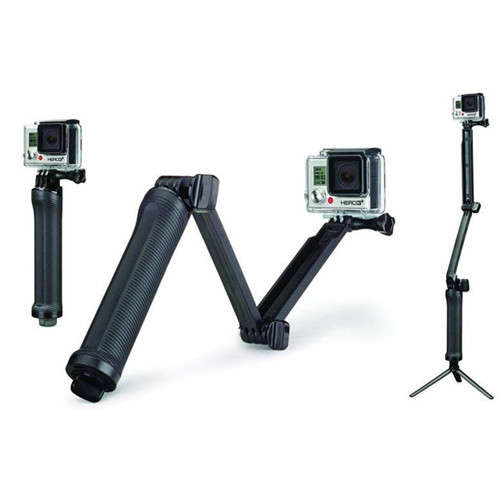 3-Way Adjustable Bracket Hand Grip For GoPro Action Camera