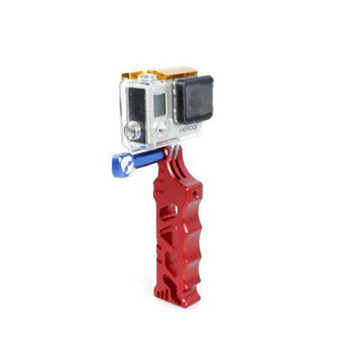 Aluminum CNC Alloy Tactical Grip for GoPro Action Camera